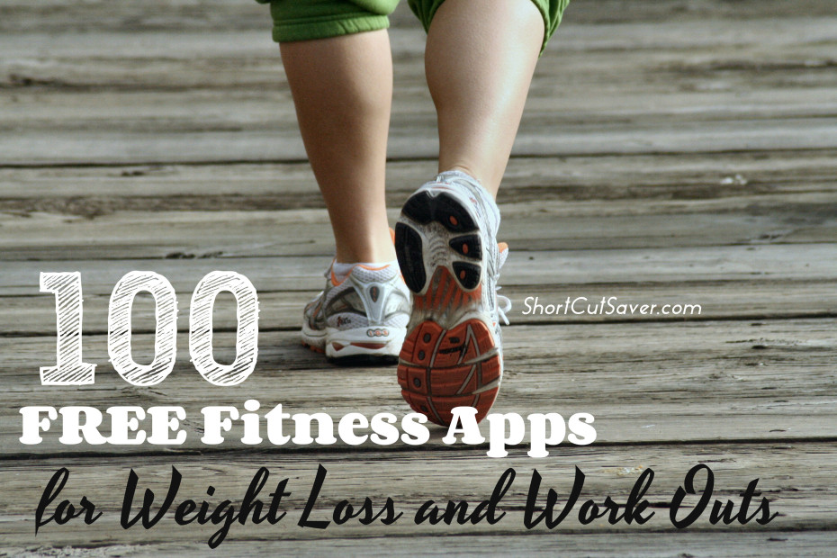 100 free fitness apps for weight loss and work outs
