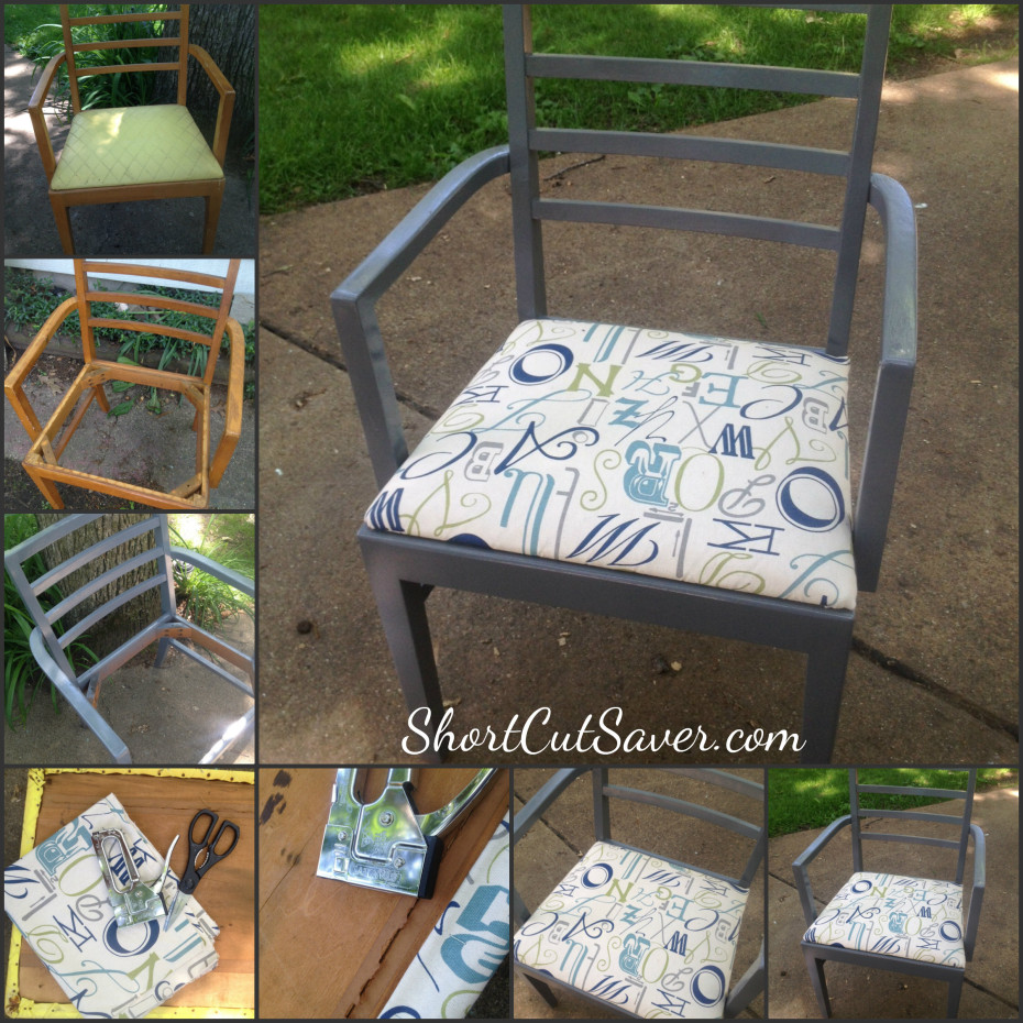 DIY Chair Upcycle instructions