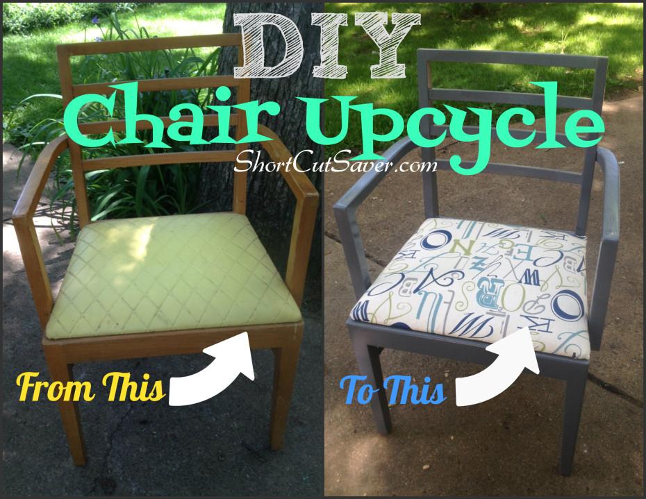 DIY chair upcycle