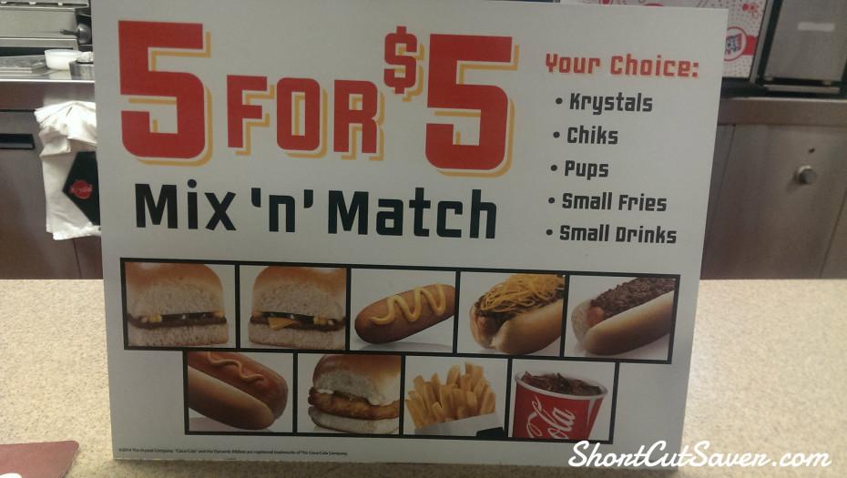 Krystal Burger Sign