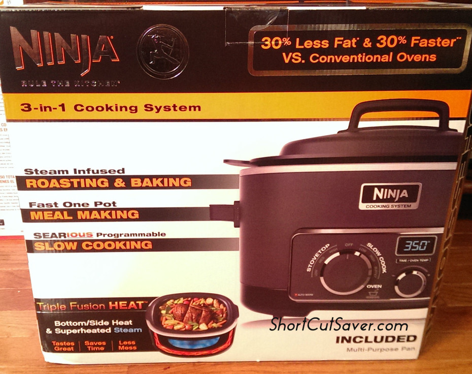 3-in-1 ninja cooking system