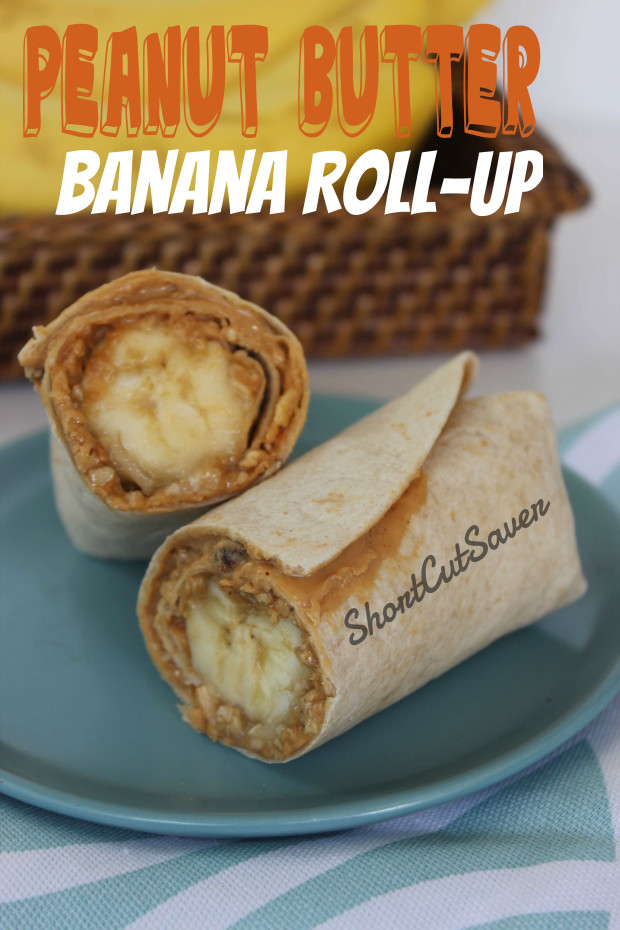 Peanut Butter Banana Roll-Up