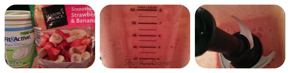 strawberry banana smoothie