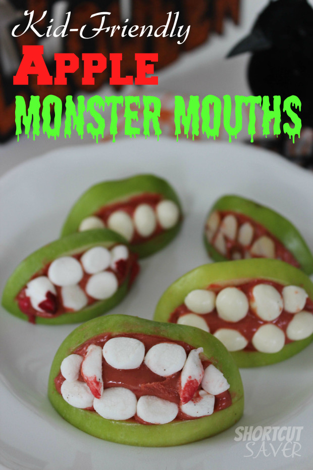 Apple monster mouths