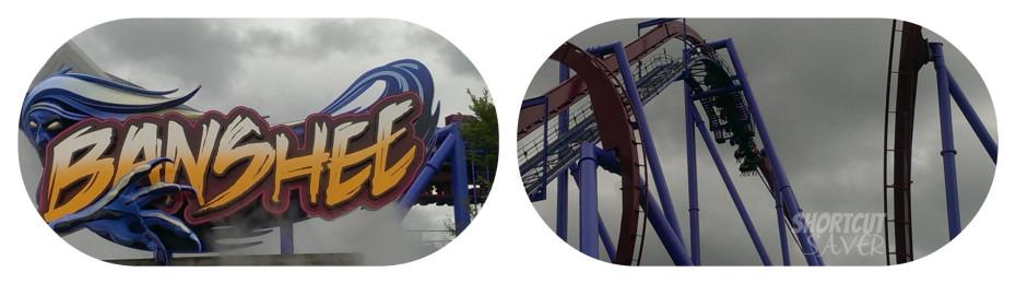 Banshee Roller Coaster