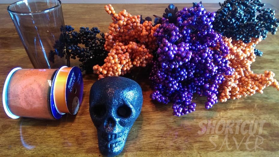 Halloween centerpiece supplies