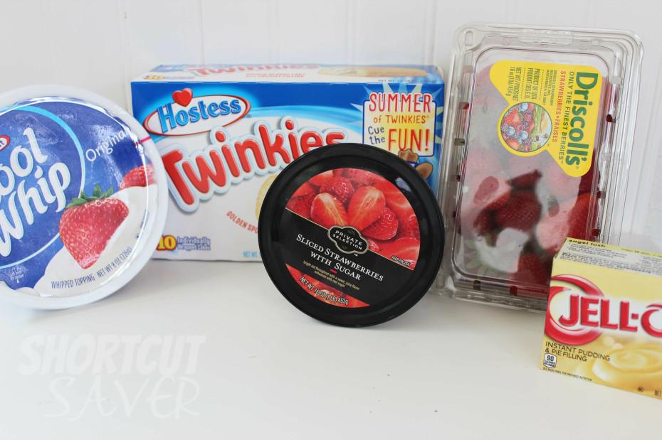 Twinkie strawberry dessert ingredients