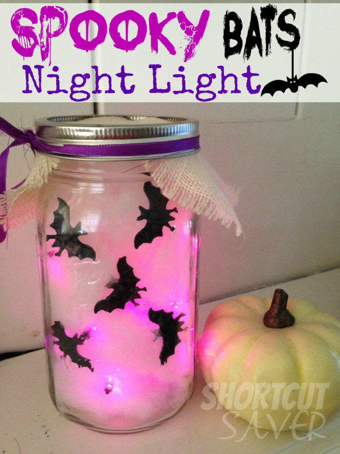 spooky bats night light