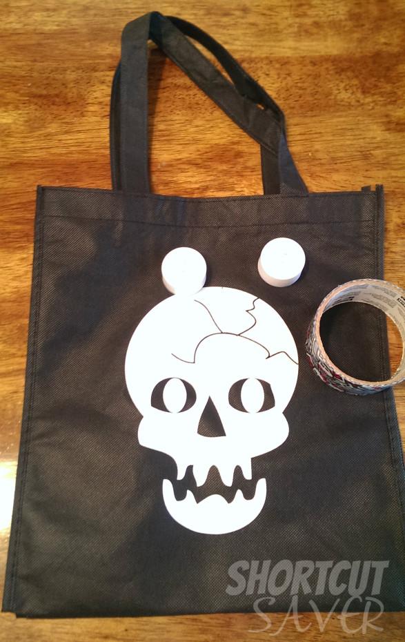 spooky light-up bag