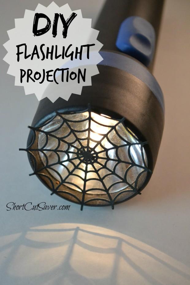 diy flashlight projection