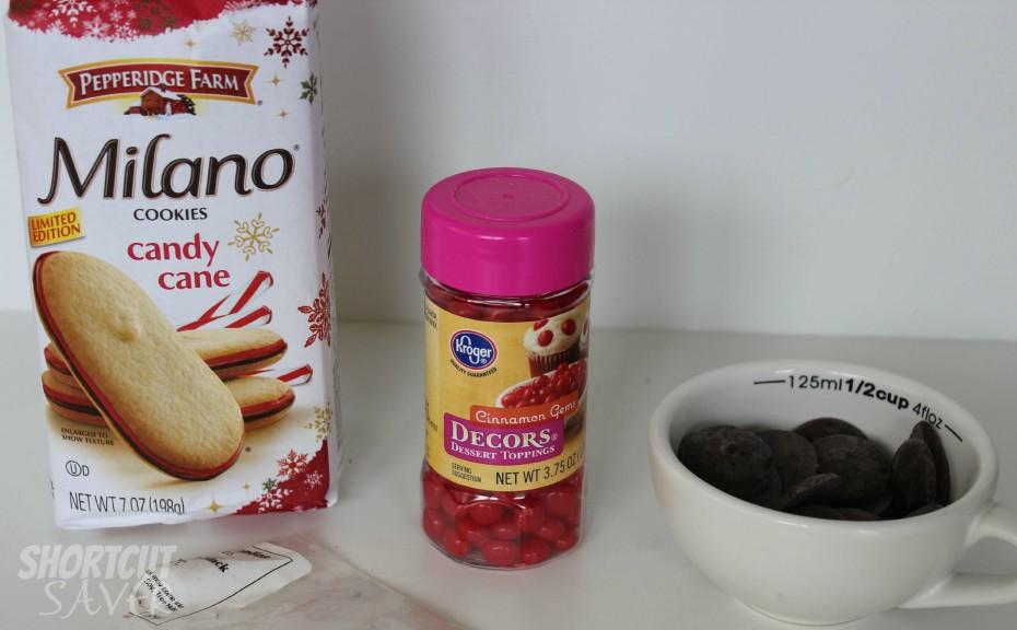 milano reindeer cookies ingredients