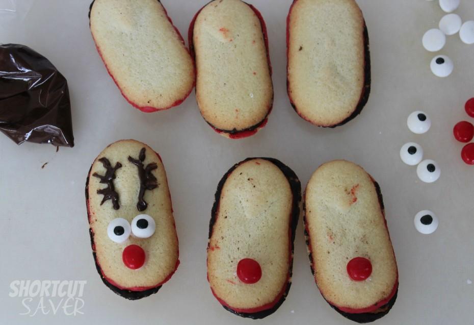 milano reindeer cookies process