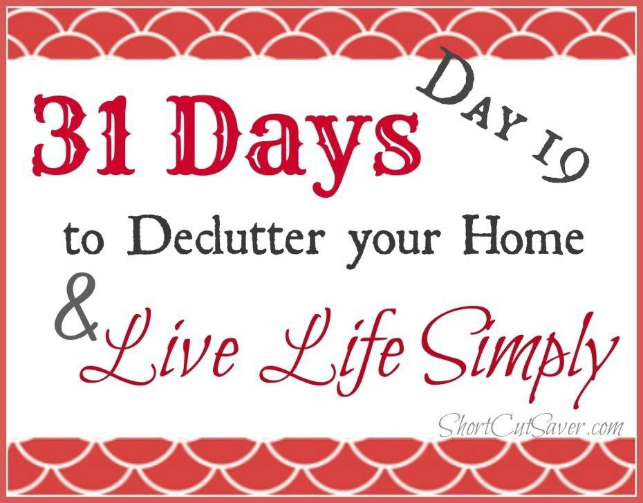 31 Days to Declutter Your Home & Live Life Simply: Under the Bed