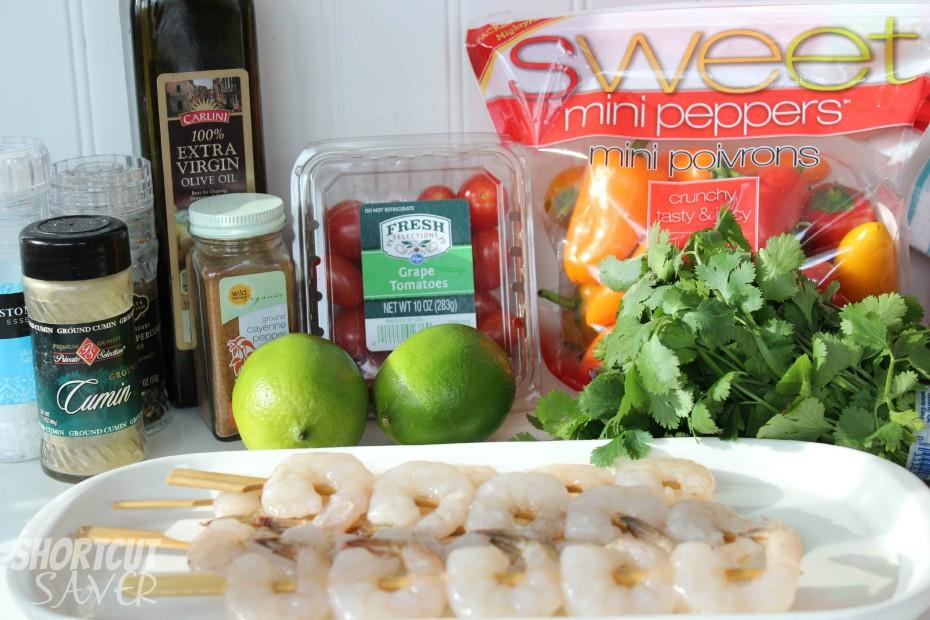 southwestern shrimp skewers ingredients