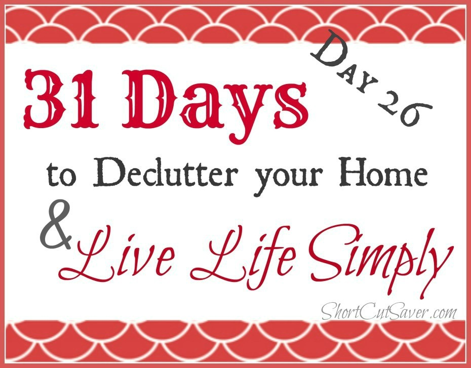 31 Days to Declutter Your Home & Live Life Simply: Gift Wrapping Supplies