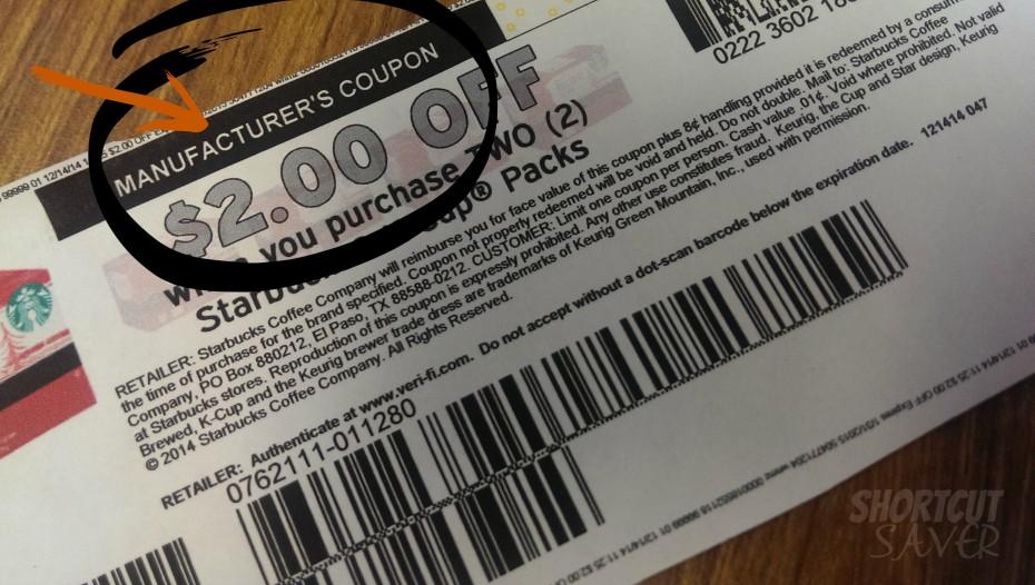 manufacturer's coupon