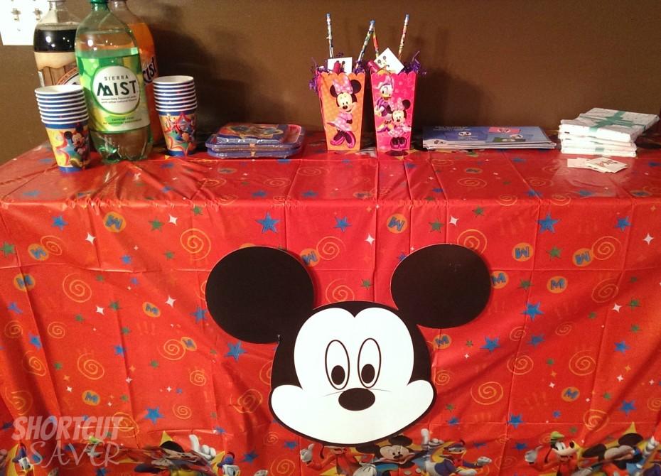 disneyside party decorations