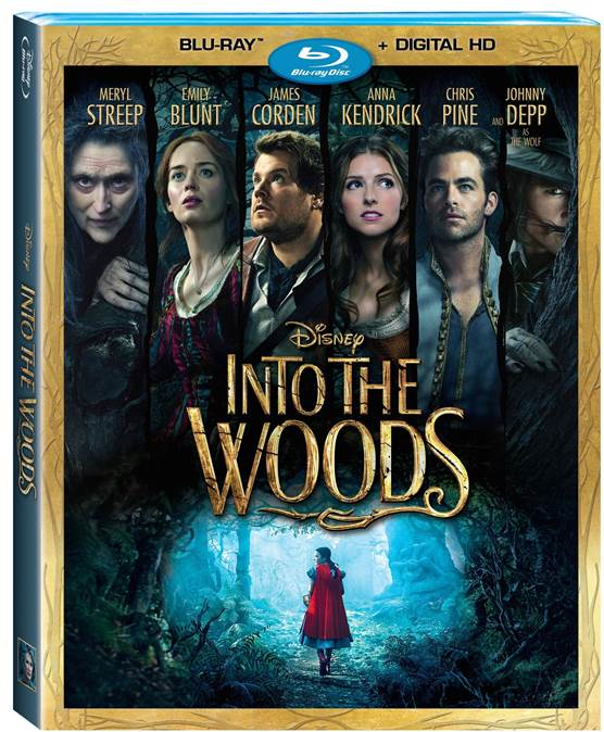 Into the Woods Available on Blu-Ray/DVD