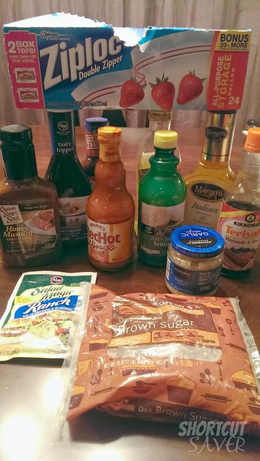 freezer meals ingredients