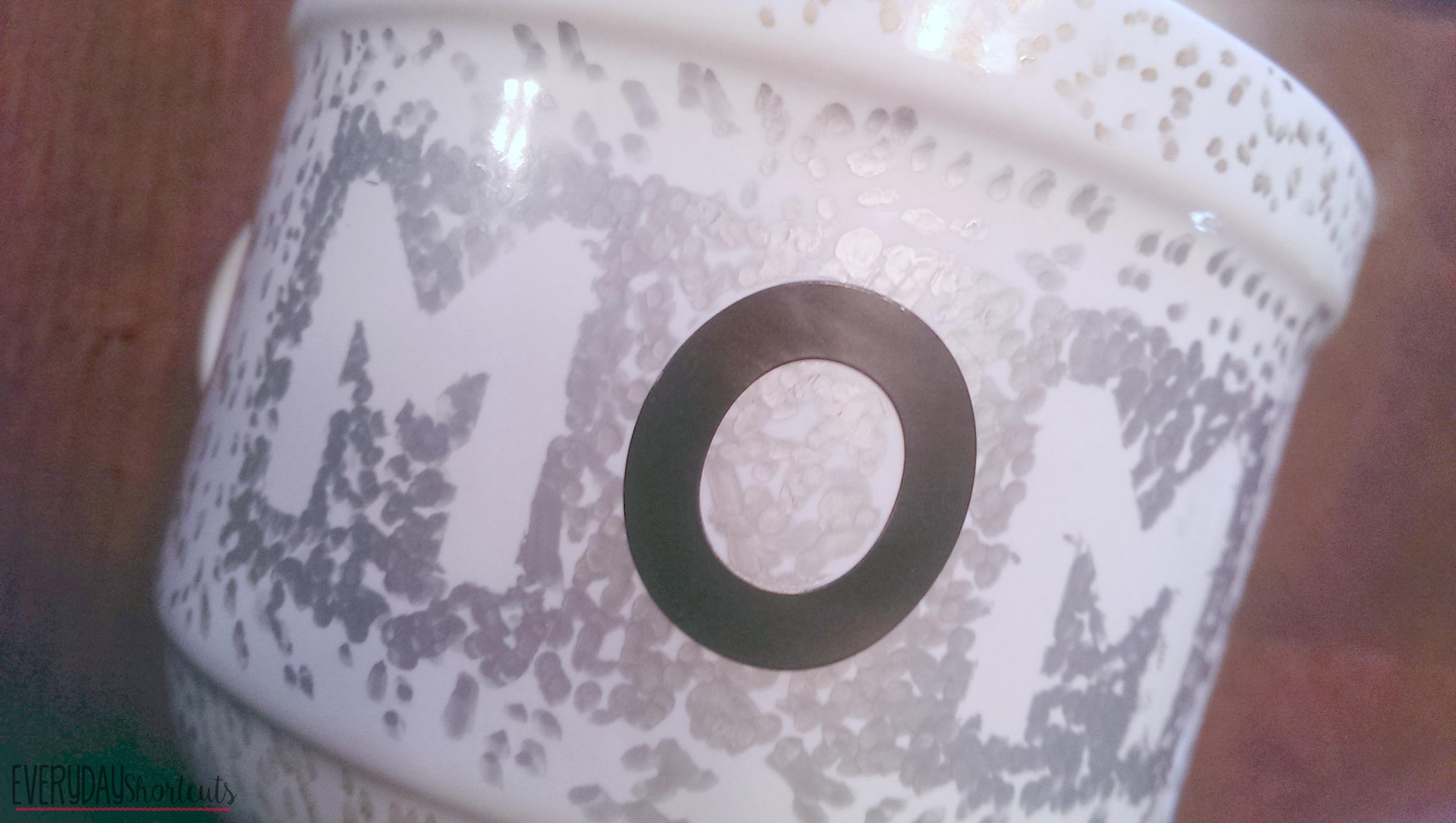 mom sharpie mug process