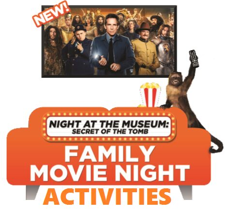 night at the museum activites