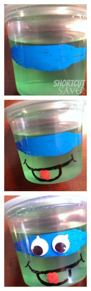 ninja turtles jello cups process