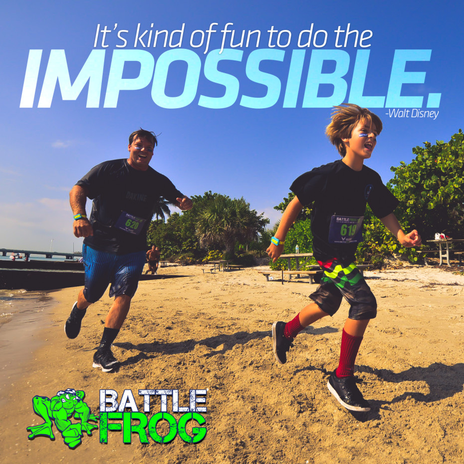 Family Fun Obstacle BattleFrog Tri-State Race
