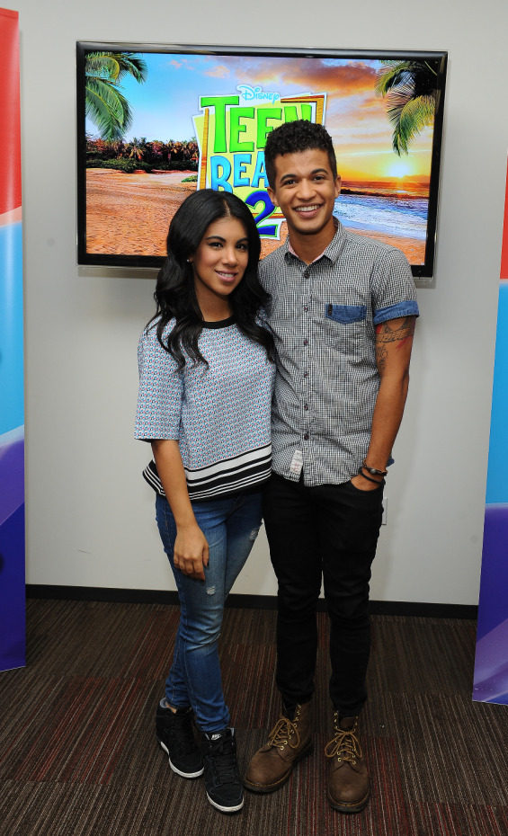 Exclusive Interview with Teen Beach 2 Stars Chrissie Fit & Jordan Fisher