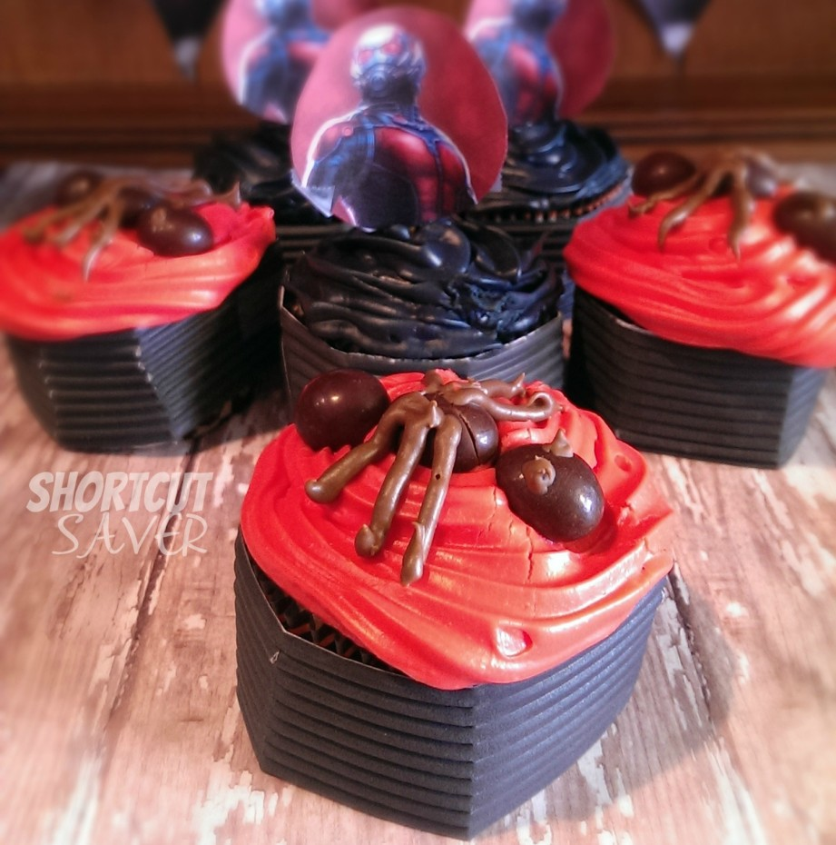 antman cupcake toppers