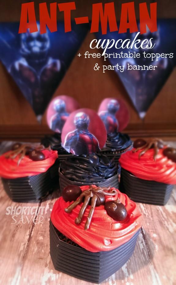 antman cupcakes