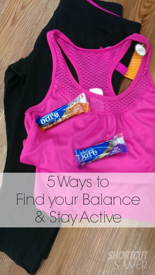ways to find your balance and stay active