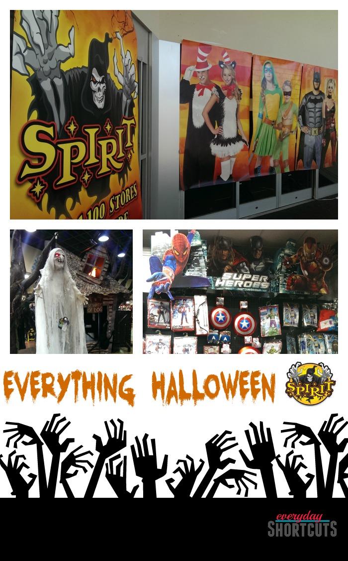 everything halloween at spirit halloween