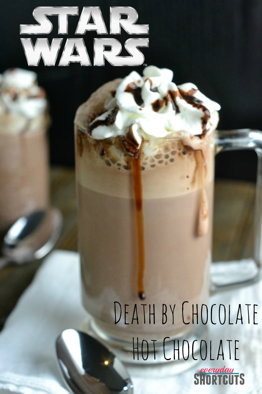 Death by Chocolate Starwars Hot Chocolate