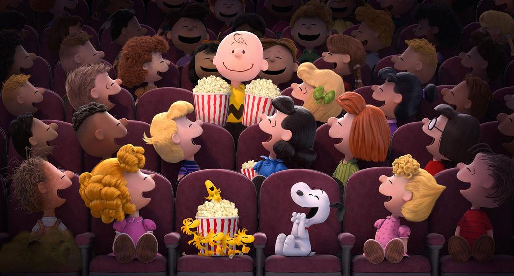 peanuts at the movies