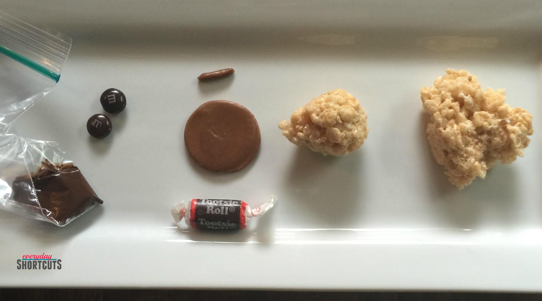 Mickey Acorn Bites Ingredients