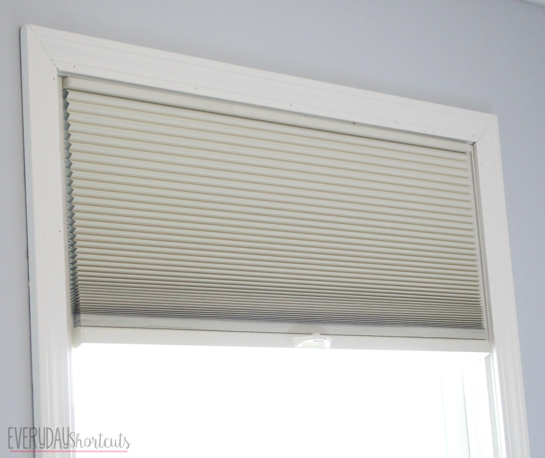 blinds half open