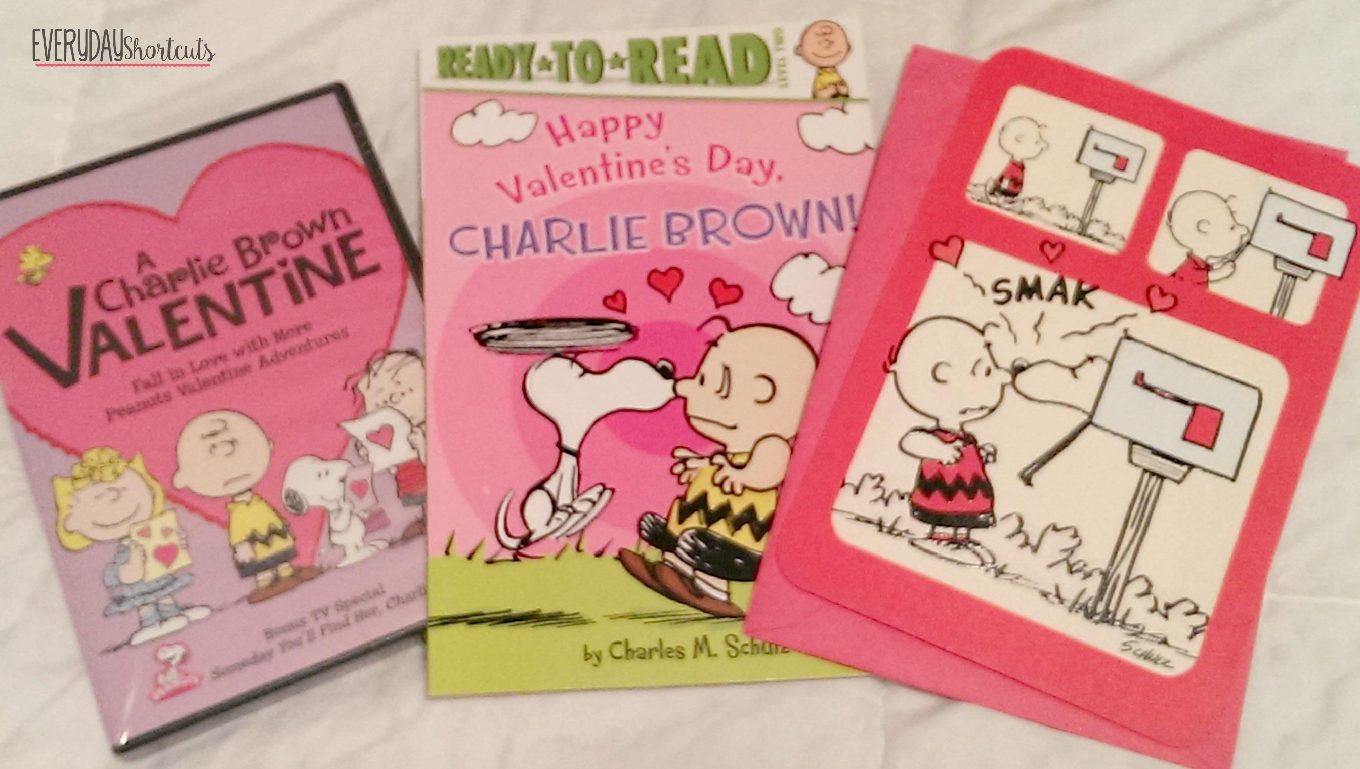 peanuts themed valentines