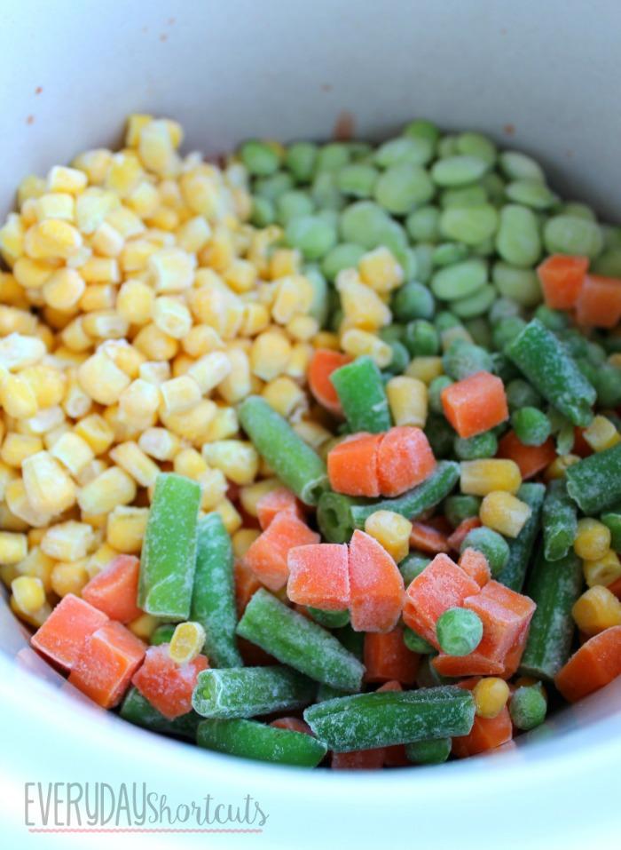 vegetable soup in crock pot