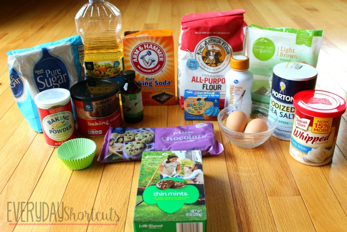 thin mint cupcakes ingredients