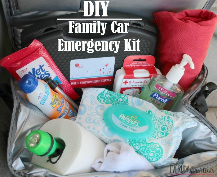 family car emergency kit