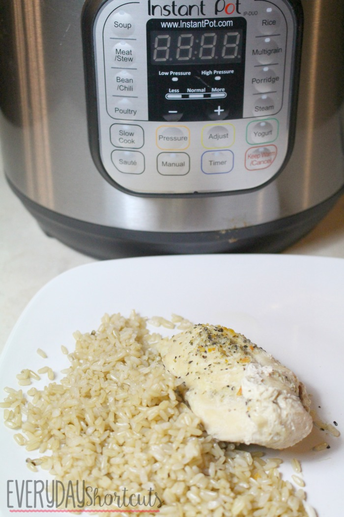 instant pot garlic chicken
