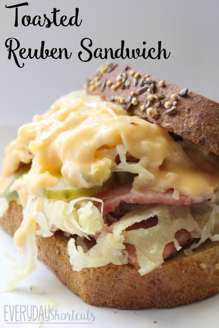 toasted rueben sandwich