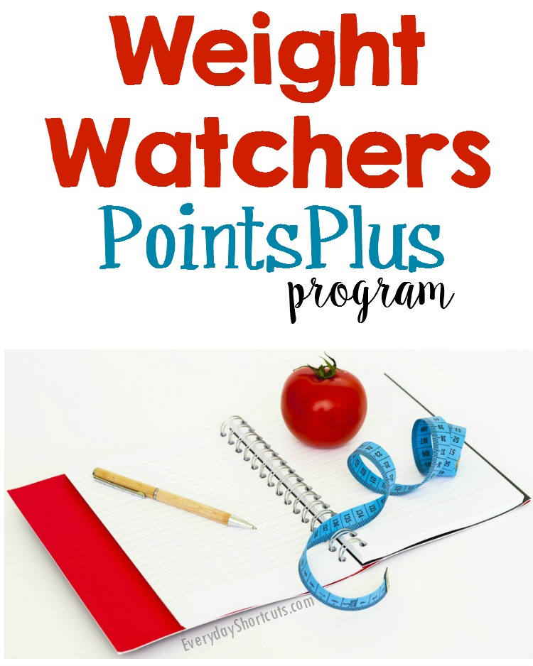 weight watchers pointsplus program