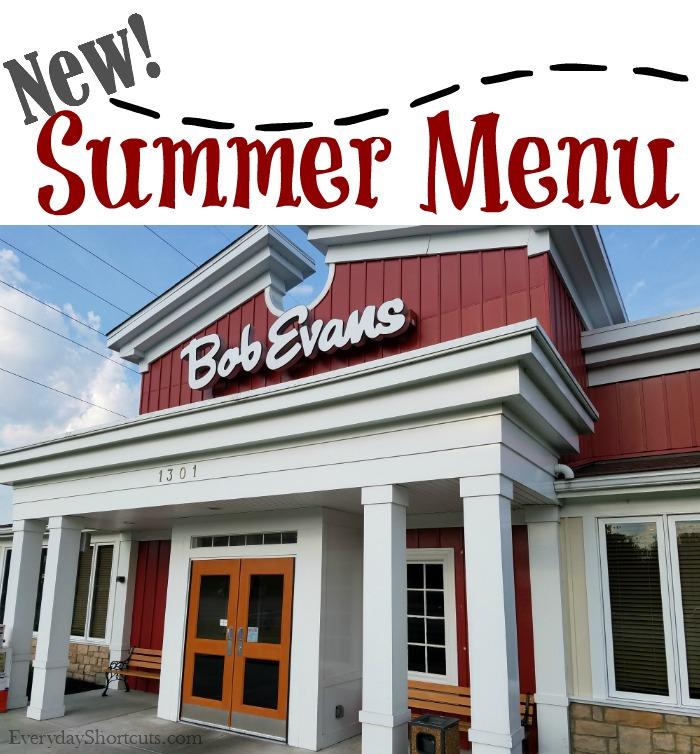 bob evans new summer menu