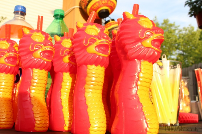 dragon cups