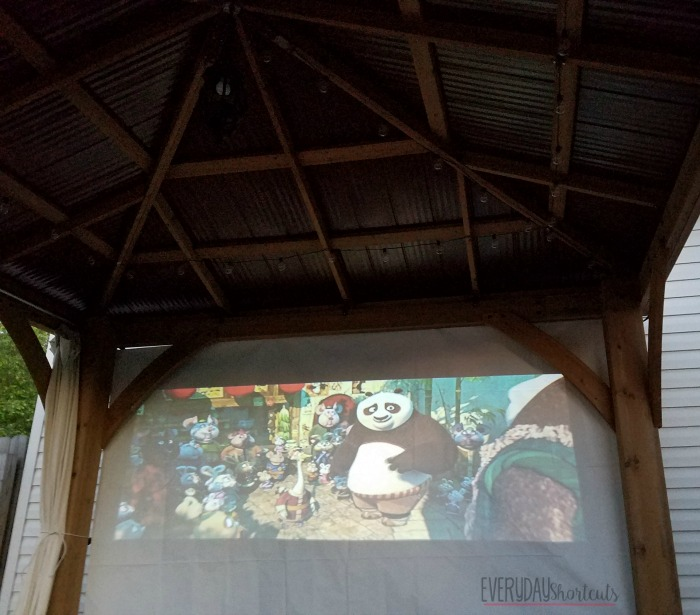 kung fu panda 3 on movie screen