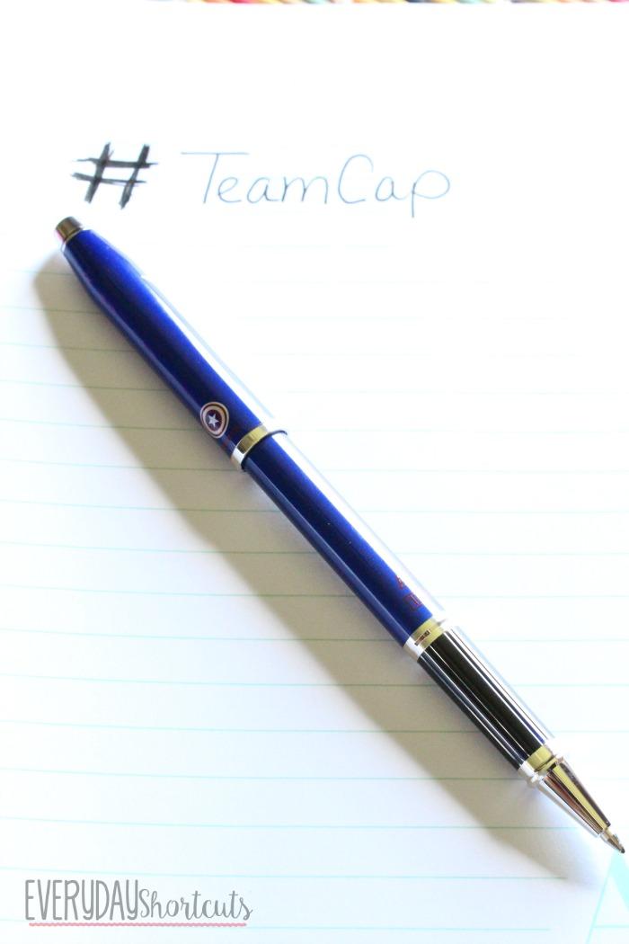 team cap pen