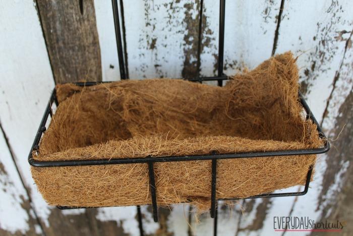 herb garden moss liner