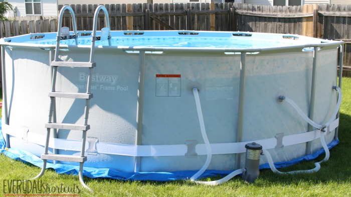 how to set up a bestway pool