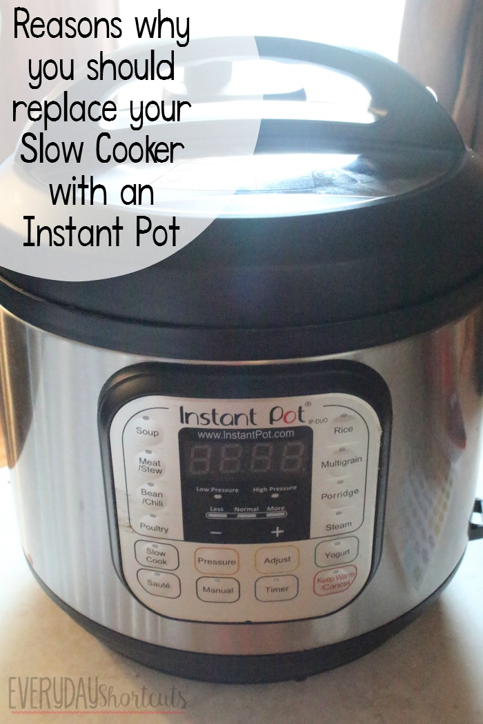 Why you Should Replace your Slow Cooker with an Instant Pot